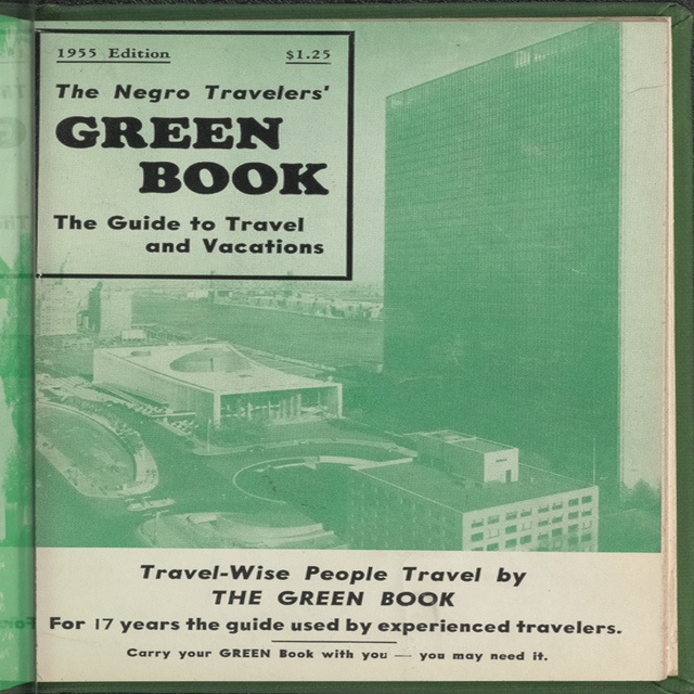 Green Book cover from 1955